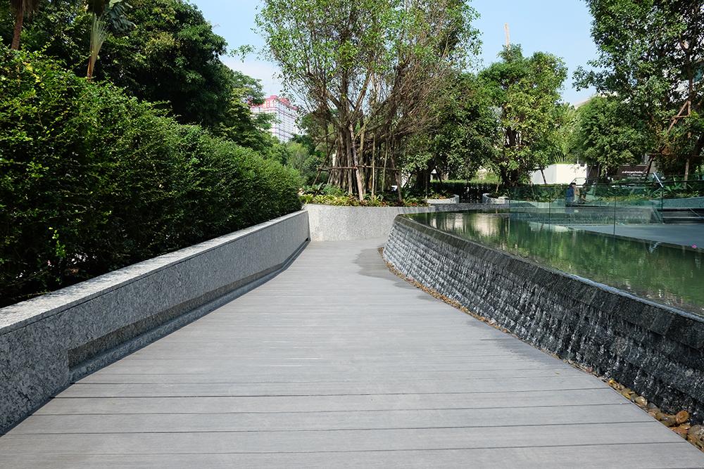 พื้นไม้เทียม WPC ผิวเรียบ สี Modern Gray