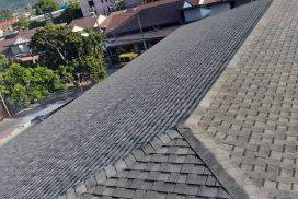 ตัวอย่างงานติดตั้ง Shingle Roof